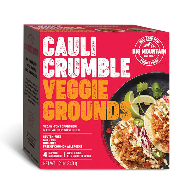Big Mountain Foods Cauliflower Crumble Veggie Ground - 360g