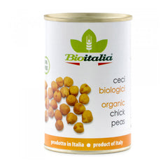 Bioitalia Organic Chick Peas - 398ml