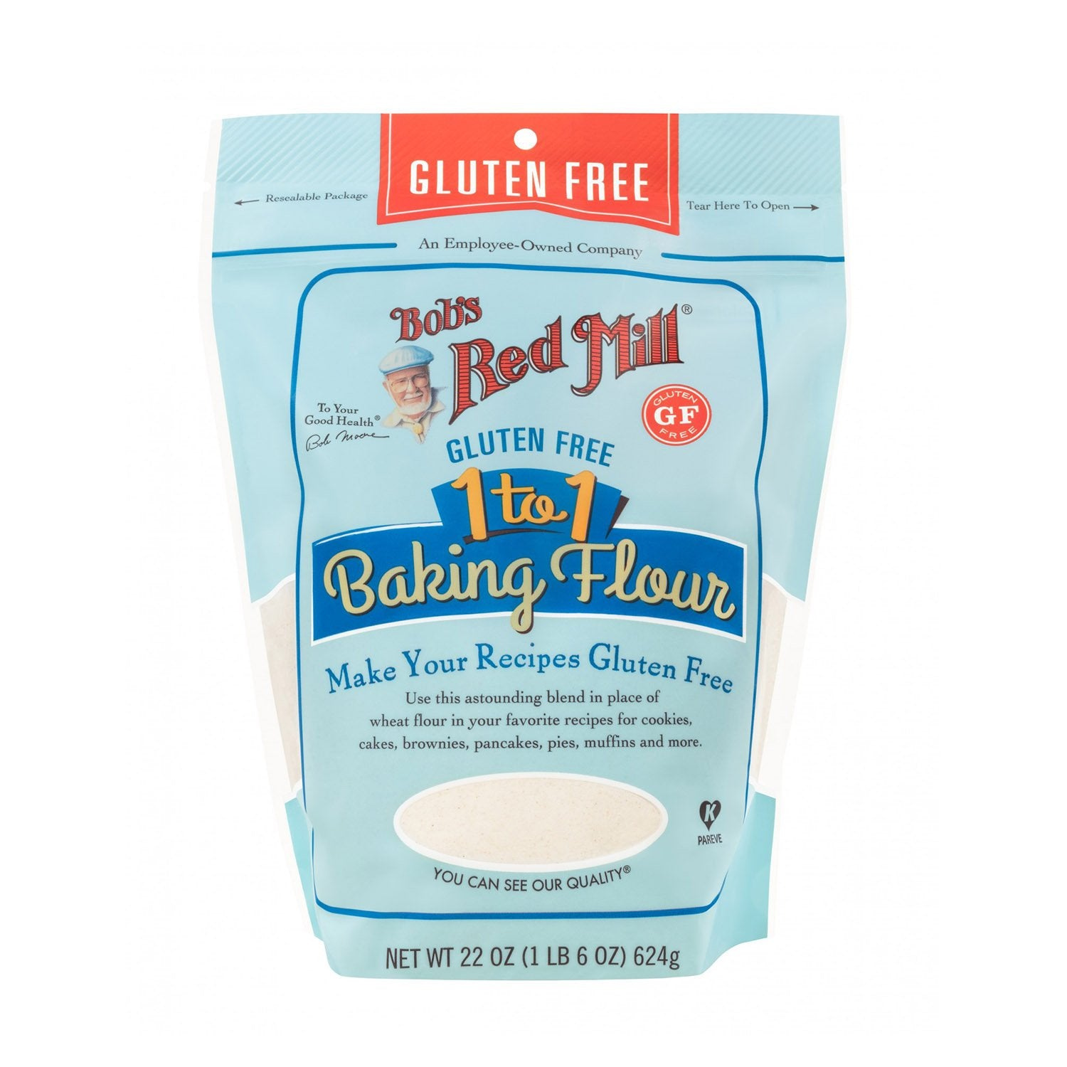 Bob's Red Mill Gluten Free 1-to-1 Baking Flour - Multiple