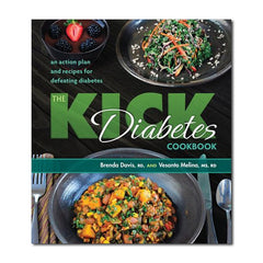 The Kick Diabetes Cookbook by Brenda Davis, Vesanto Melina