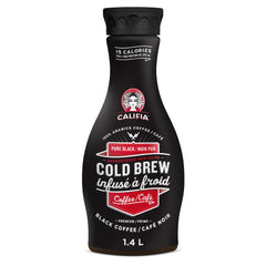 Califia Farms Pure Black Unsweetened Cold Brew - 1.4L