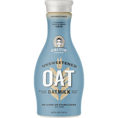 Califia Farms Unsweetened Oat Milk - 1.4L