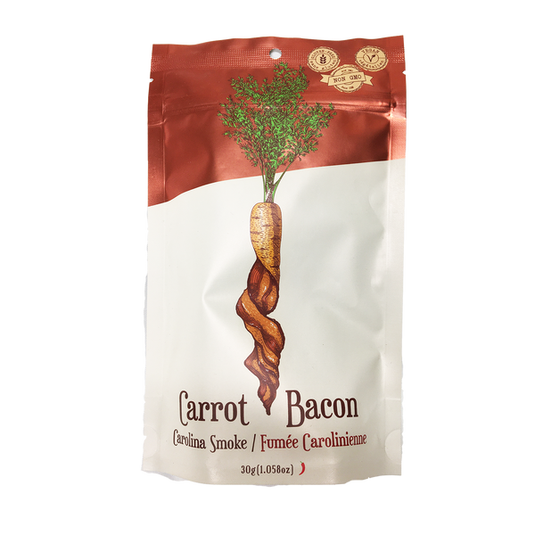 Carrot Bacon Carolina Smoke Carrot Jerky - 30g