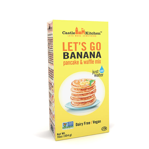 Castle Kitchen Let's Go Banana Pancake Mix - 454g
