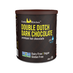 Castle Kitchen Double Dutch Dark Hot Chocolate Mix - 400g