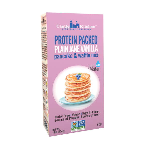 Castle Kitchen Protein Packed Plain Jane Vanilla Pancake Mix - 454g