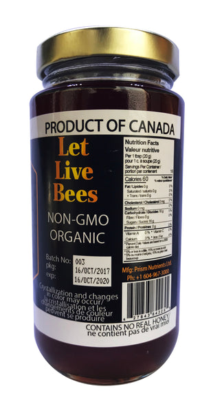 Prism Vegan Bee Free Honey - 340g