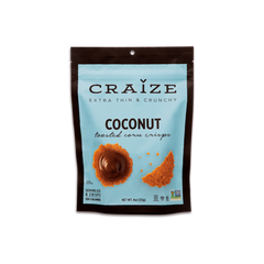 Craize Coconut Toasted Corn Crisps - 113g