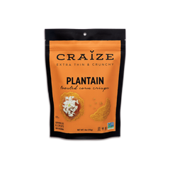 Craize Plantain Toasted Corn Crisps - 113g