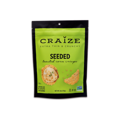 Craize Seeded Toasted Corn Crisps - 113g