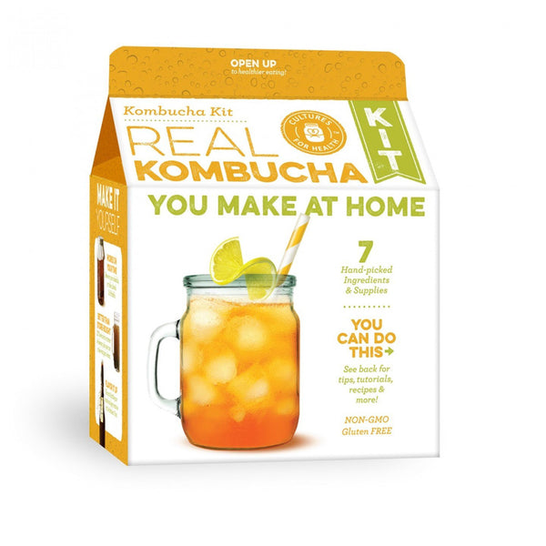 Cultures For Health Real Kombucha Starter Kit