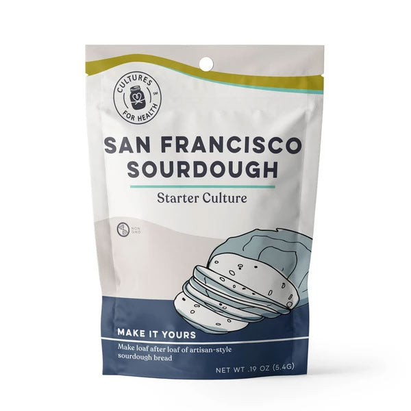Cultures For Health San Francisco Sourdough Starter Culture Single - 5.4g