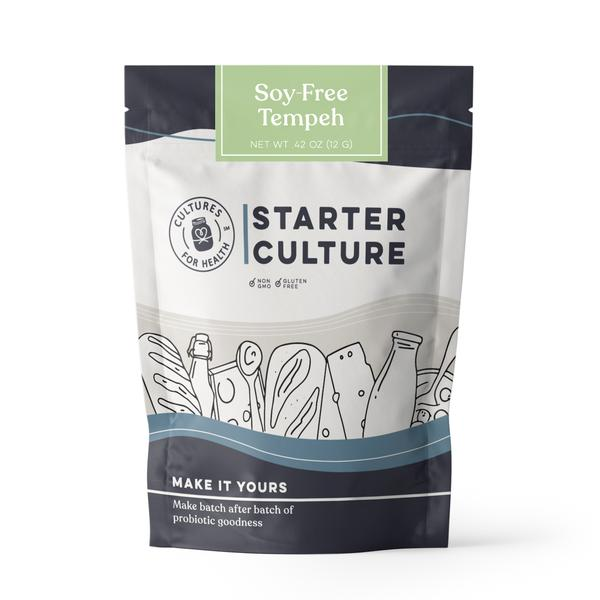 Cultures For Health Soy-Free Tempeh Starter Culture Single - 12g