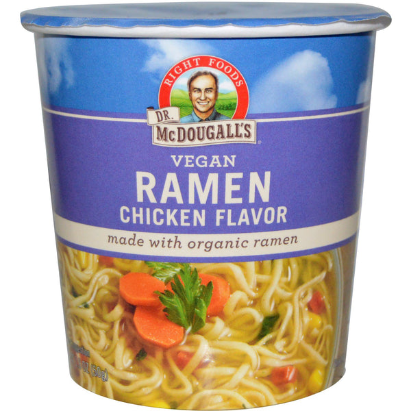 Dr. McDougall's Right Foods Chicken Ramen Soup Cup - 50g