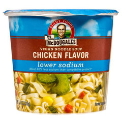 Dr. McDougall's Lower Sodium Chicken Noodle Soup Cup - 39g