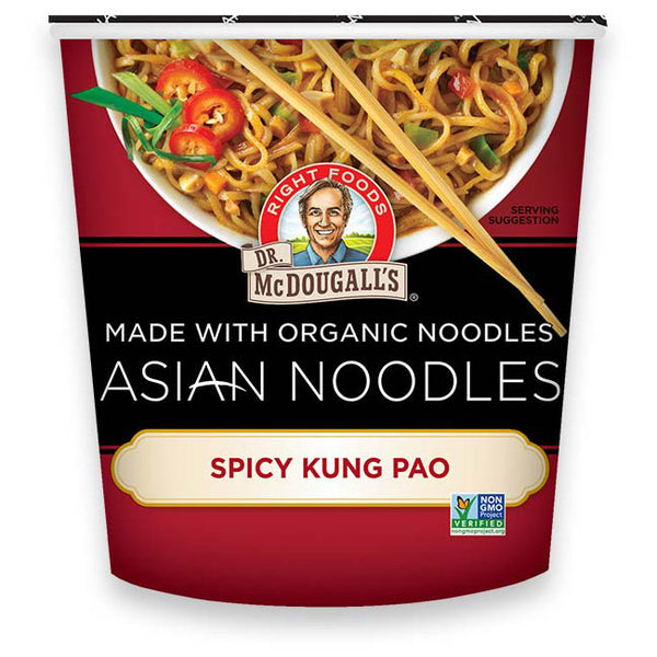 Dr. McDougall's Spicy Kung Pao Asian Noodle Cup - 56g