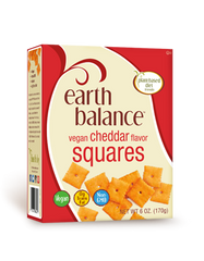 Earth Balance Cheddar Flavor Squares - 170g