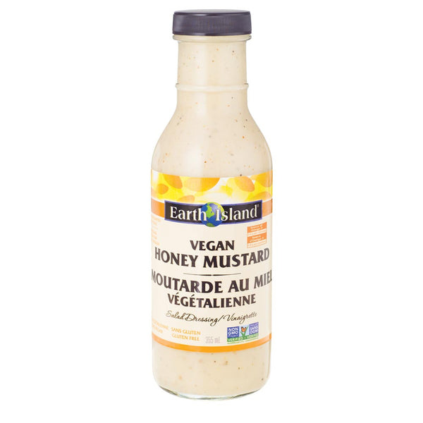 Earth Island Vegan Honey Mustard Dressing - 355ml