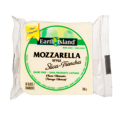 Earth Island Mozzarella Slices - 200g