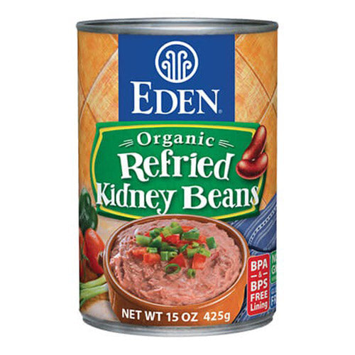 Eden Foods Organic Refried Kidney Beans - 398ml