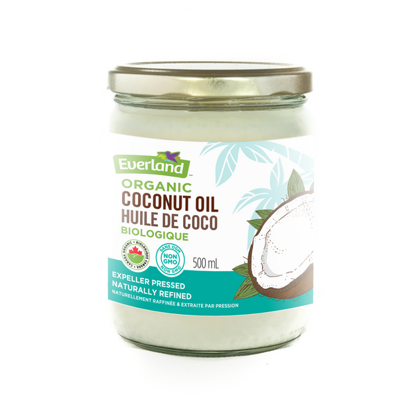 Everland Organic Refined Coconut Oil (Glass Jar) - 500ml