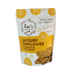 Eve's Savoury Sunflower Crackers - 100g