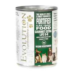 Evolution Organic Gourmet Cat/Dog Food Green Can  - 363g