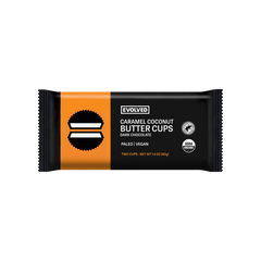 Evolved Chocolate Caramel Coconut Butter Cups - 40g