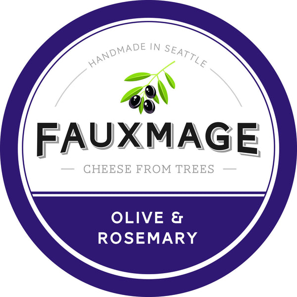 Fauxmage Olive & Rosemary Cashew Spread - 184g