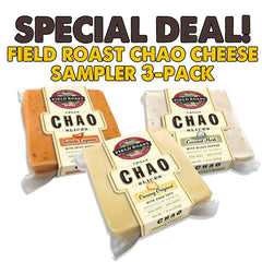 Field Roast Chao Cheese 3 Pack Sampler - 3x 200g