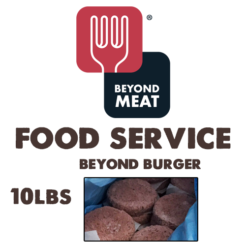 FOOD SERVICE Beyond Meat Beyond Burger - 10lb Case