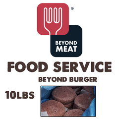Beyond Meat Beyond Burger (Food Service) - 10lb Case