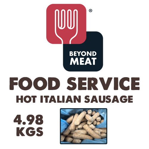 Beyond Meat Hot Italian Sausage (Food Service) - 4.98kg Case