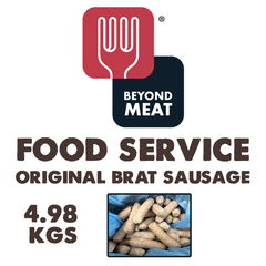 FOOD SERVICE Beyond Meat Original Brat Sausage - 4.98kg Case