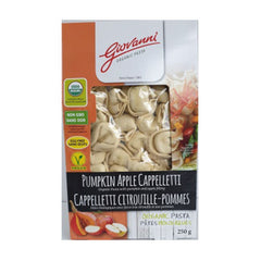 Giovanni Organic Pumpkin Apple Cappelletti - 250g