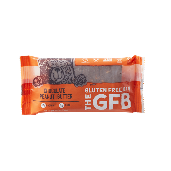 The Gluten Free Bar Chocolate Peanut Butter - 58g