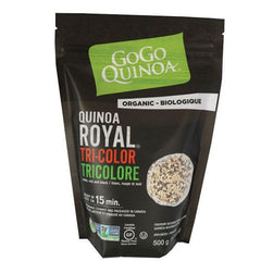 Gogo Quinoa Royal Tri-Colour Organic Quinoa - 500g