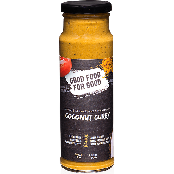 Good Food For Good Coconut Curry Sauce - 250ml