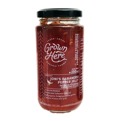 Grown Here Joni's Habanero Pepper Jelly - 250ml