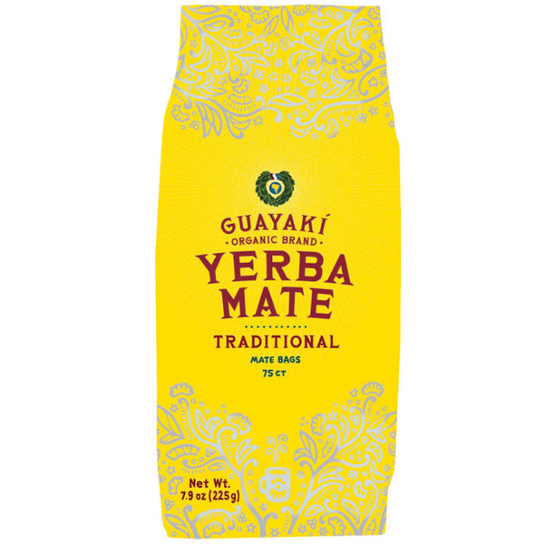 Guayaki Traditional Loose Leaf Yerba Mate - 75 Tea Bags