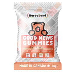 Herbaland Peach Passion Good News Gummies - 50g