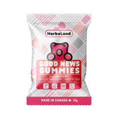 Herbaland Raspberry Rad Good News Gummies - 50g
