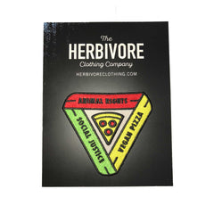 Herbivore 'Animal Rights, Social Justice, Vegan Pizza' Patch
