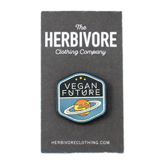 Herbivore 'Vegan Future' Enamel Pin
