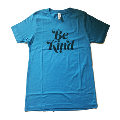 Herbivore Clothing 'Be Kind' Blue Unisex T-Shirt