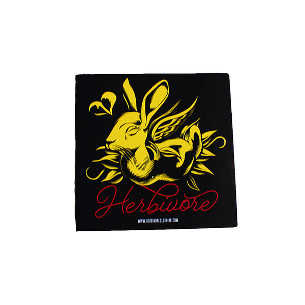 Herbivore 'Rabbit - Herbivore' Sticker
