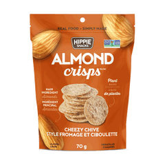 Hippie Snacks Cheezy Chive Almond Crisps - 70g