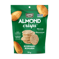Hippie Snacks Rosemary Almond Crisps - 70g
