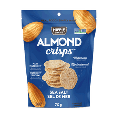 Hippie Snacks Sea Salt Almond Crisps - 70g
