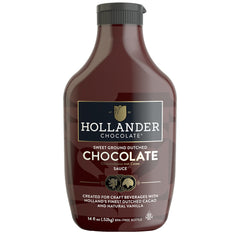 Hollander Sweet Ground Dutched Chocolate Sauce - 520g